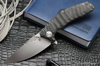 Morrf-3 Knife (Evgeny Muan design, S35VN, bearings, CF+Ti)