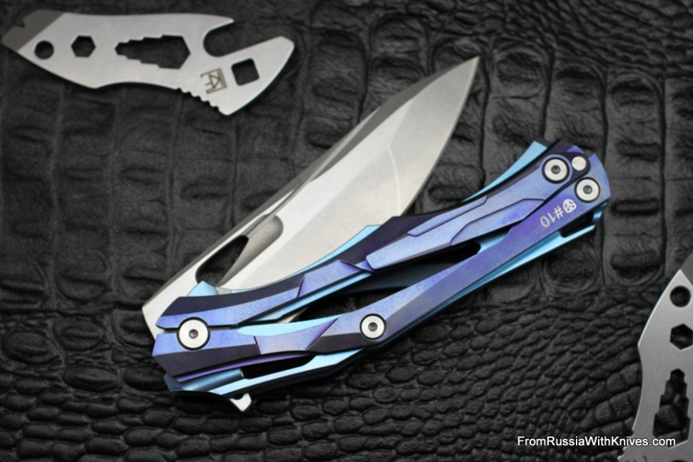 #10 Customized Decepticon-1 Knife (Alexey Konygin design, Stas Bondarenko customization)