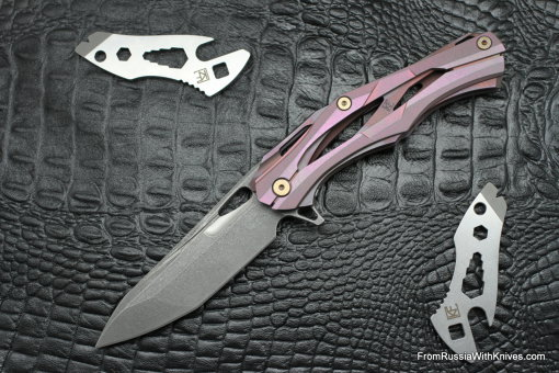 #11 Customized Decepticon-1 Knife (Alexey Konygin design, Stas Bondarenko customization)