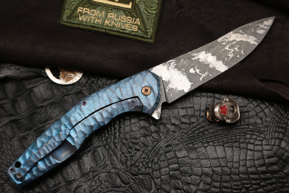 #22 ELF Knife (Anton Malyshev design, Stas Bondarenko customization)