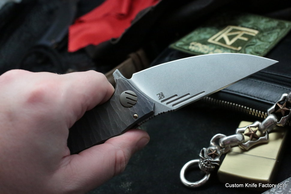 Customized Morrf Knife -Waves 1-