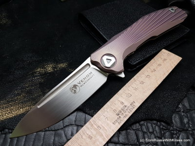 VENOM: New Concept (S35VN, Ti, VIOLET anodizing, bearings)