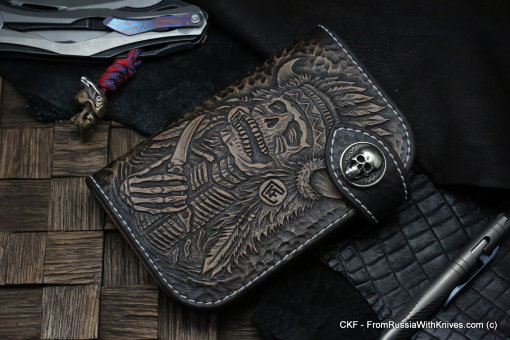 Custom Leather Wallet CKF IND-KROKAR