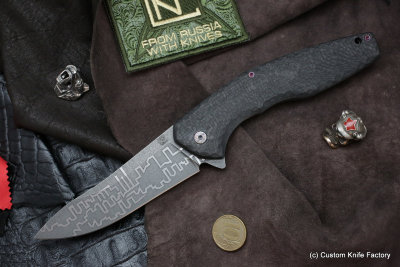 #24 ELF Knife (Anton Malyshev design, Stas Bondarenko customization)