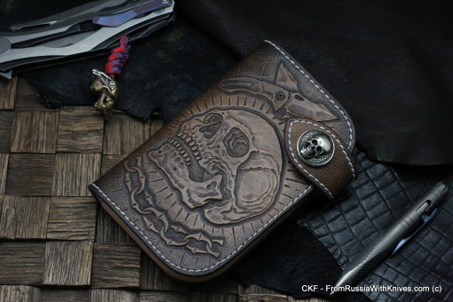 Custom Leather Wallet CKF CHEREP
