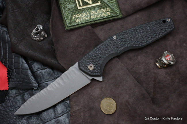 #23 ELF Knife (Anton Malyshev design, Stas Bondarenko customization)