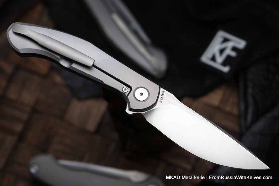 MKAD by CKF - Meta knife (M390, Ti) - shipping from States