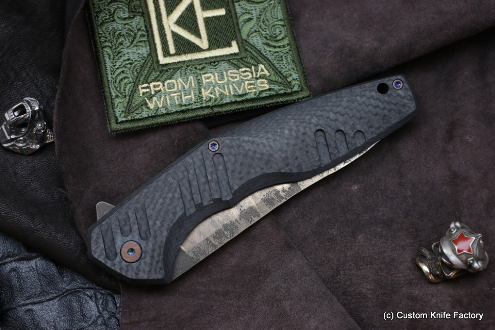 #26 ELF Knife (Anton Malyshev design, Stas Bondarenko customization)