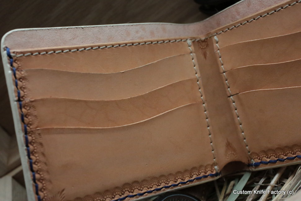 Custom Leather Wallet CKF3KS