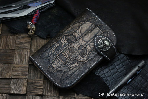 Custom Leather Wallet CKF TRINITY