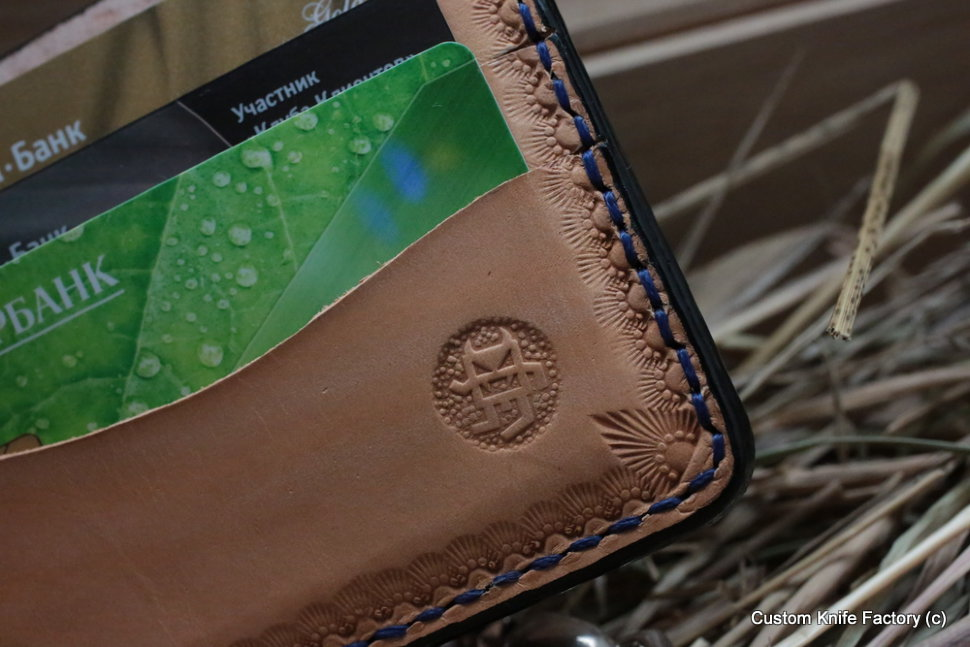 Custom Leather Wallet CKFTH