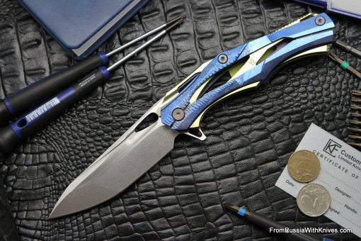 #20 Customized Decepticon-1 Knife (Alexey Konygin design, Stas Bondarenko customization)
