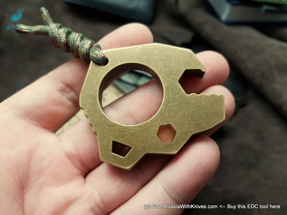 MT Mishka Bottle Opener (brass)