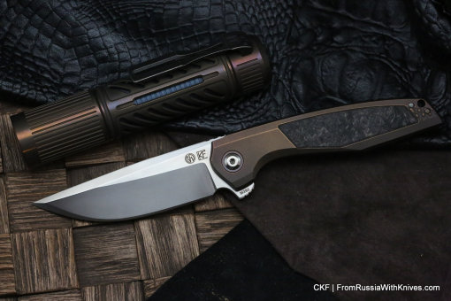 CKF/TUFFKNIVES Switch + CKF Rama Dva Flashlight