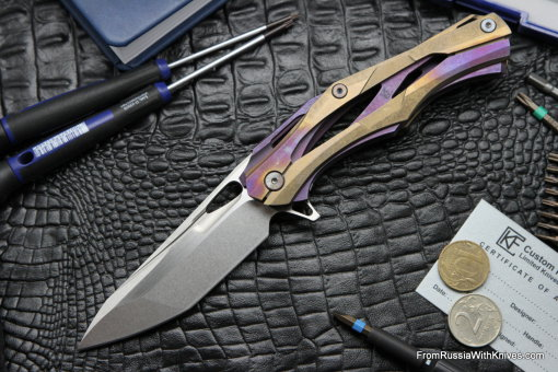 #19 Customized Decepticon-1 Knife (Alexey Konygin design, Stas Bondarenko customization)