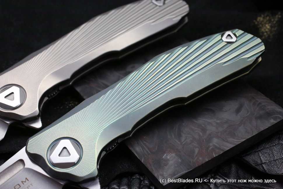 VENOM: New Concept (S35VN, Ti, GREEN anodizing, bearings)