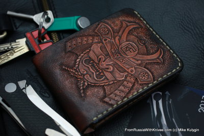 Custom Leather Wallet CKF SAM1