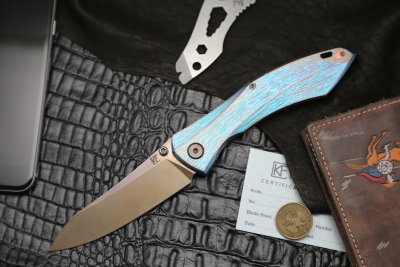 Garza Knife #3 (Anton Malyshev design, Stas Bondarenko customization)