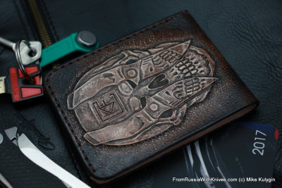 Custom Leather Wallet CKF SCLL1