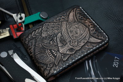 Custom Leather Wallet CKF DVKNG