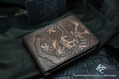 Custom Leather Wallet CKF SM+MSK
