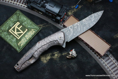 #29 ELF Knife (Anton Malyshev design, Stas Bondarenko customization)