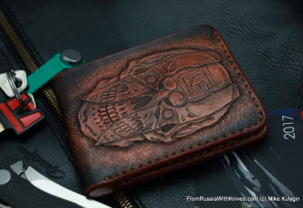 Custom Leather Wallet CKF SCLL2