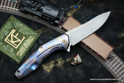 #30 ELF Knife (Anton Malyshev design, Stas Bondarenko customization)
