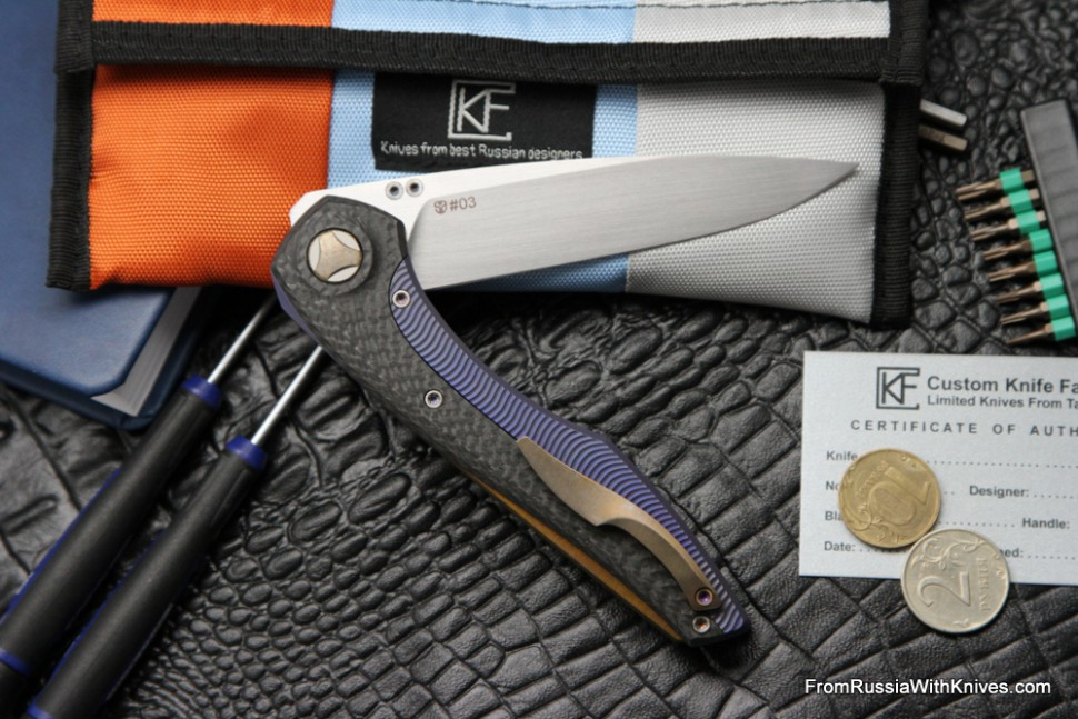 #3 Customized Sukhoi Knife (Design: Anton Malyshev, Customization: Stas Bondarenko)