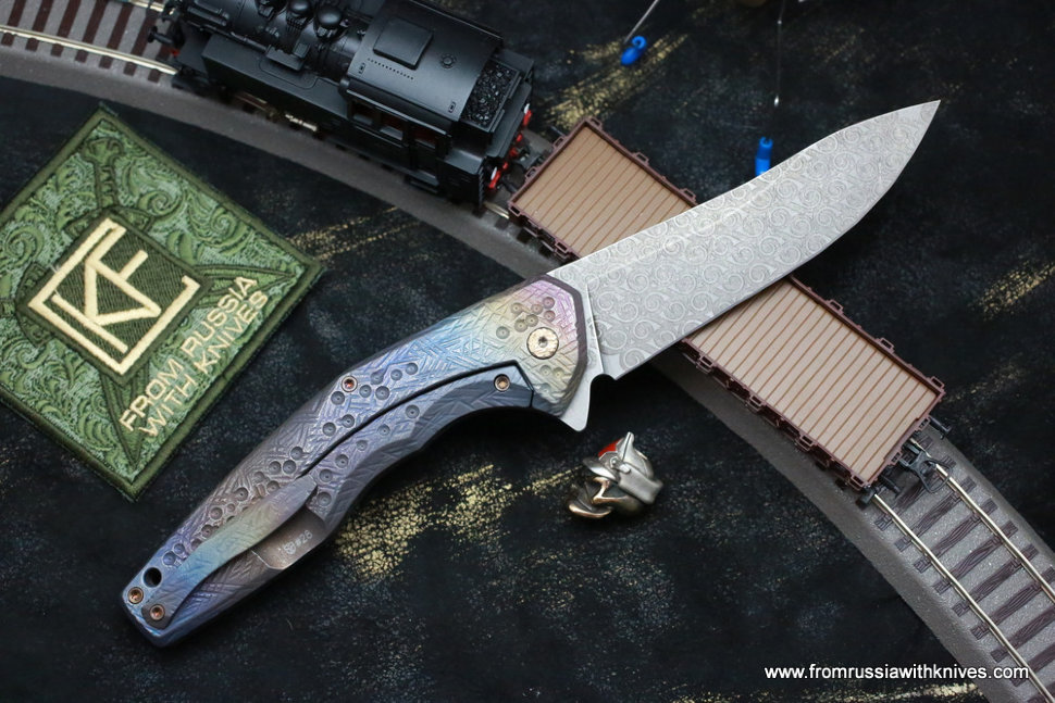 #28 ELF Knife (Anton Malyshev design, Stas Bondarenko customization)