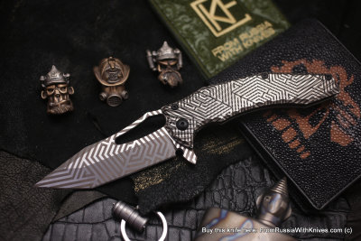One-off CKF/GAVKO SF knife - MESM -