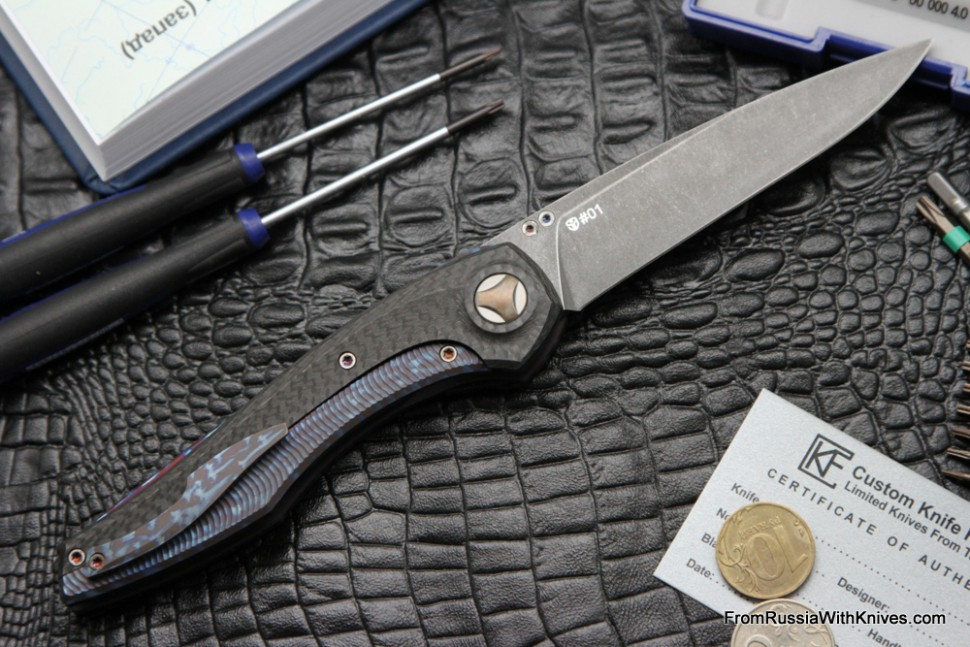 #1 Customized Sukhoi Knife (Design: Anton Malyshev, Customization: Stas Bondarenko)