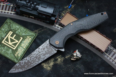 #27 ELF Knife (Anton Malyshev design, Stas Bondarenko customization)