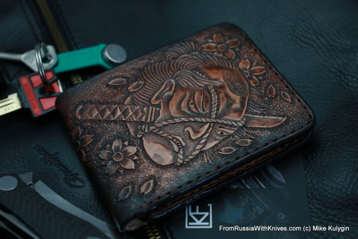 Custom Leather Wallet CKF SMRPZDZ