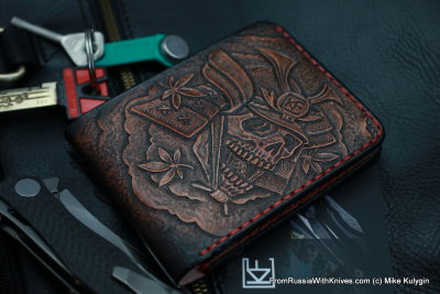 Custom Leather Wallet CKF SMRPZDZ2