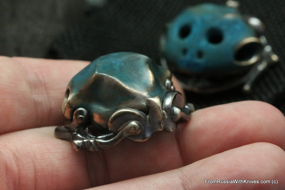Toad worry stone #3