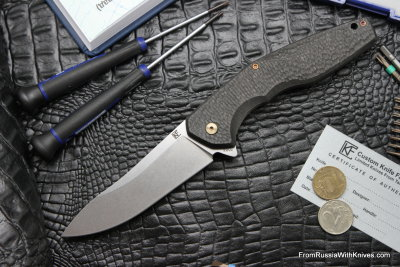 #3 Customized ELF Knife (Anton Malyshev design, Stas Bondarenko customization)