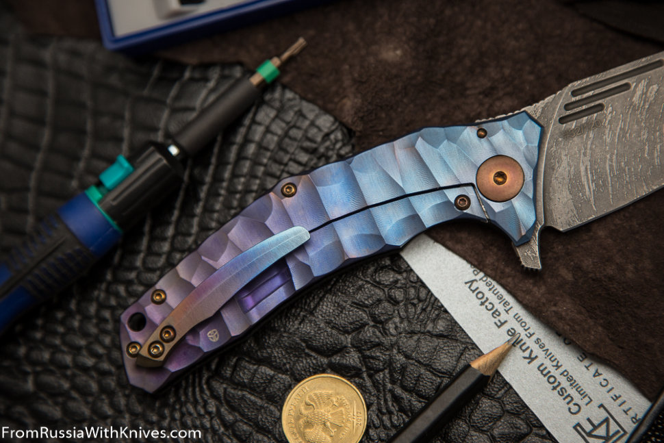 #32/120 Customized Morrf Knife (Design: Evgeniy Muan, Customization: Stas Bondarenko)