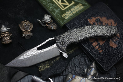 One-off CKF/GAVKO SF knife - ENNO -
