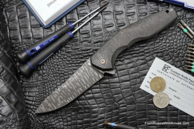#6 Customized ELF Knife (Anton Malyshev design, Stas Bondarenko customization)