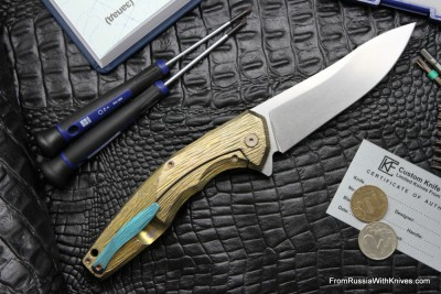 #4 Customized ELF Knife (Anton Malyshev design, Stas Bondarenko customization)
