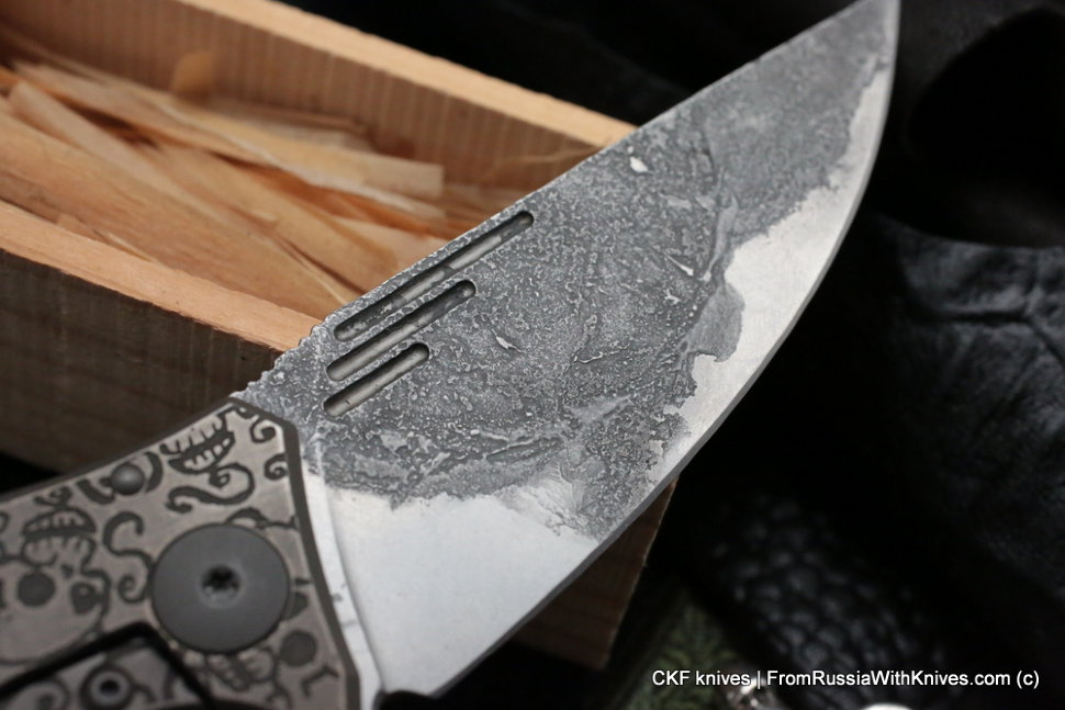 Customized Morrf Knife -SCULLS OLD-