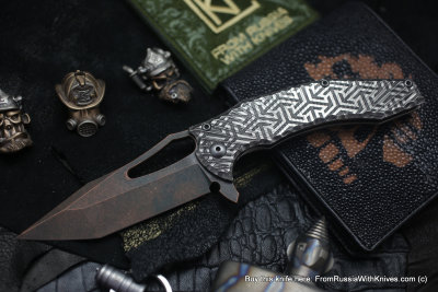 One-off CKF/GAVKO SF knife - DATO -