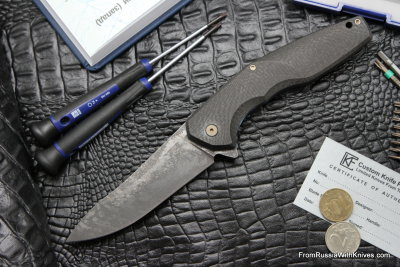 #7 Customized ELF Knife (Anton Malyshev design, Stas Bondarenko customization)