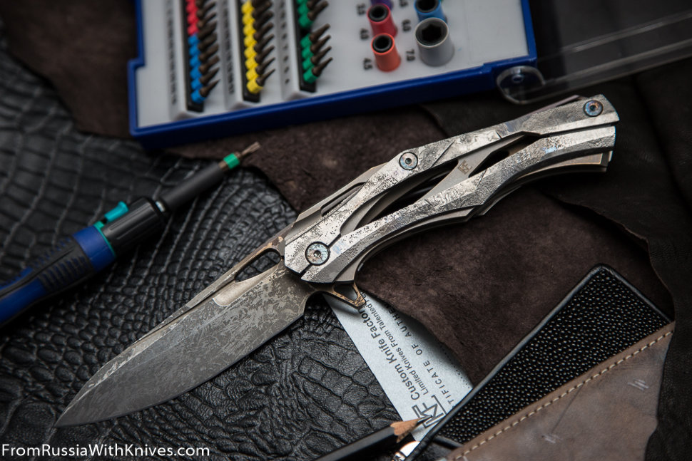 #36 Customized Decepticon-1 Knife (Alexey Konygin design, Stas Bondarenko customization)