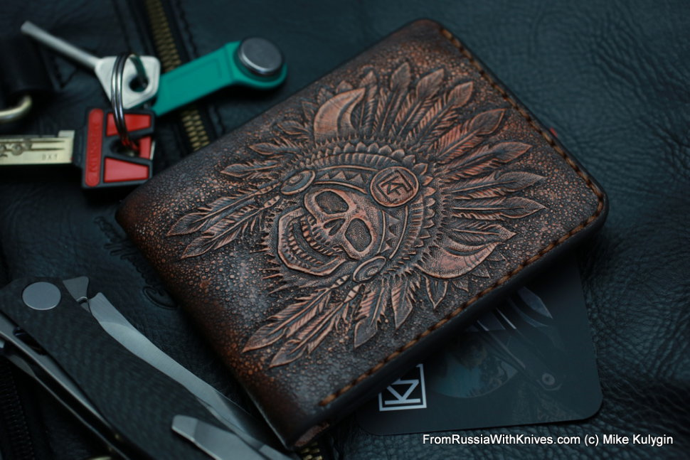 Custom Leather Wallet CKF IND1