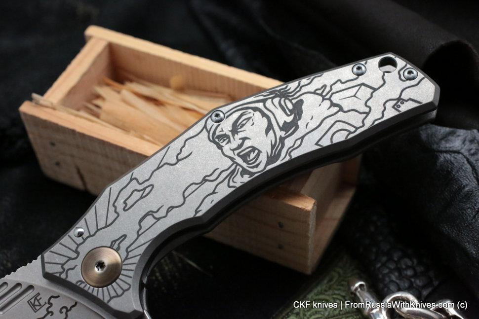 Customized Morrf Knife -KAMI BW-