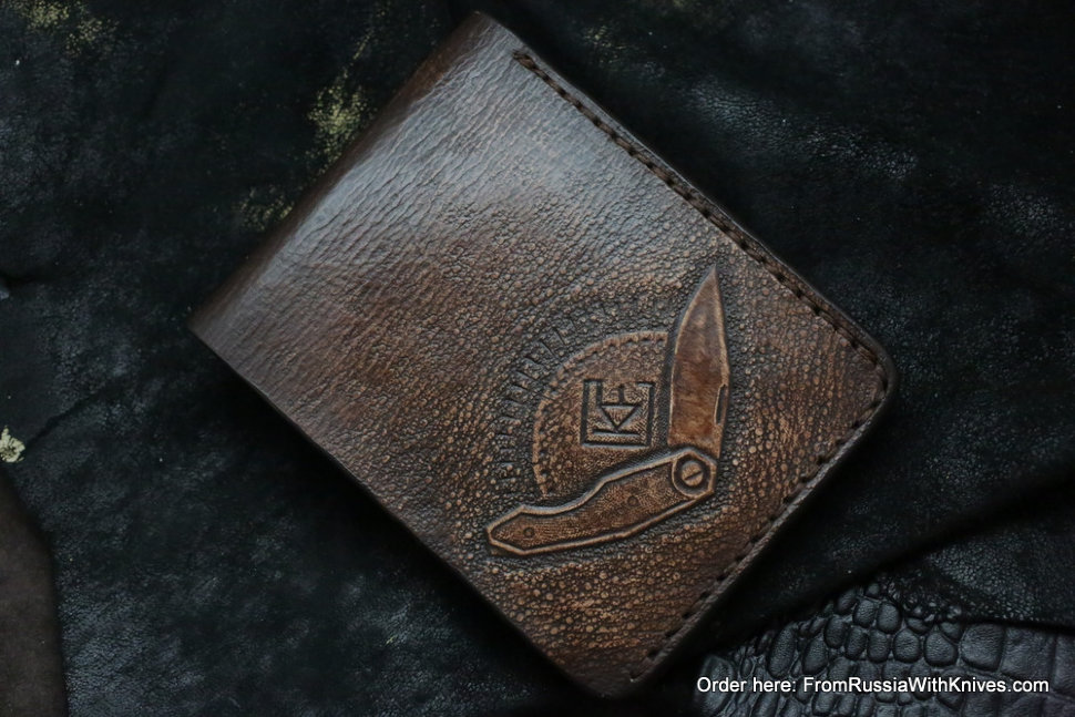 Custom Leather Wallet CKF Orelka 2