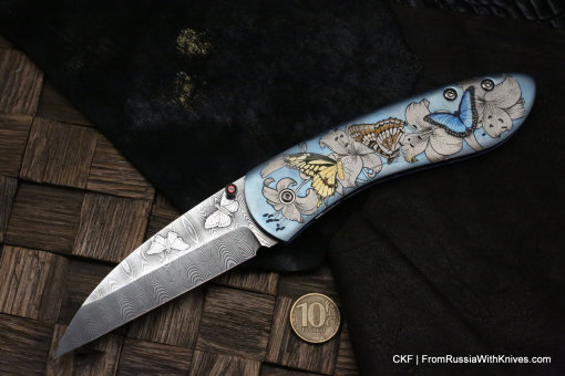 Custom knife - BABO -