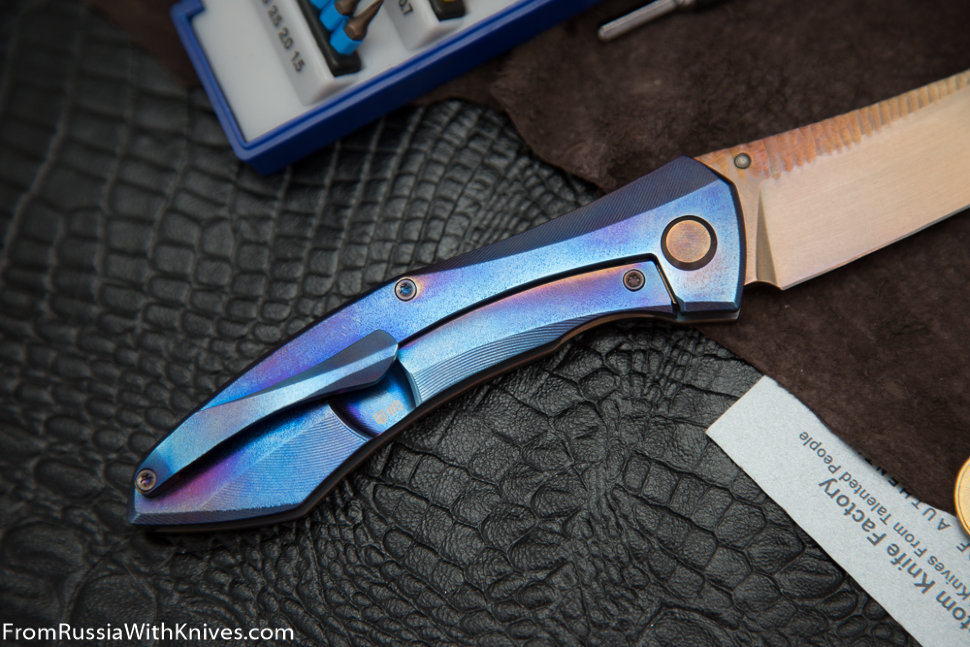 Garza Knife #6 (Anton Malyshev design, Stas Bondarenko customization)